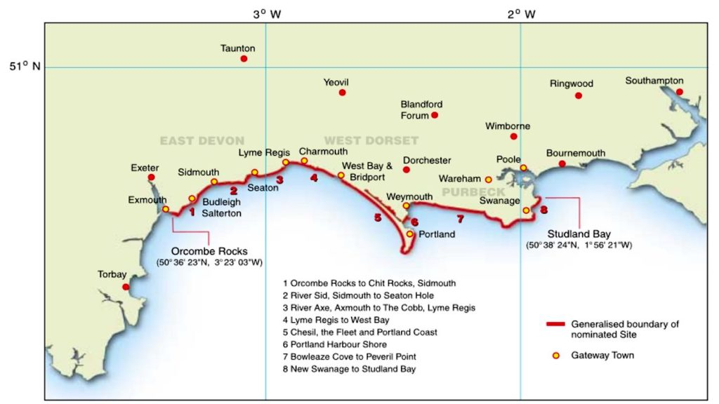 Geologiai Hullamvasut Del Angliaban Bournemouth Es A Jurassic Coast